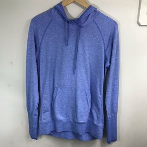 LUCY | Heather Blue Hoodie M